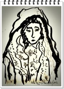Dewi Candraningrum-Kerudung Maryam